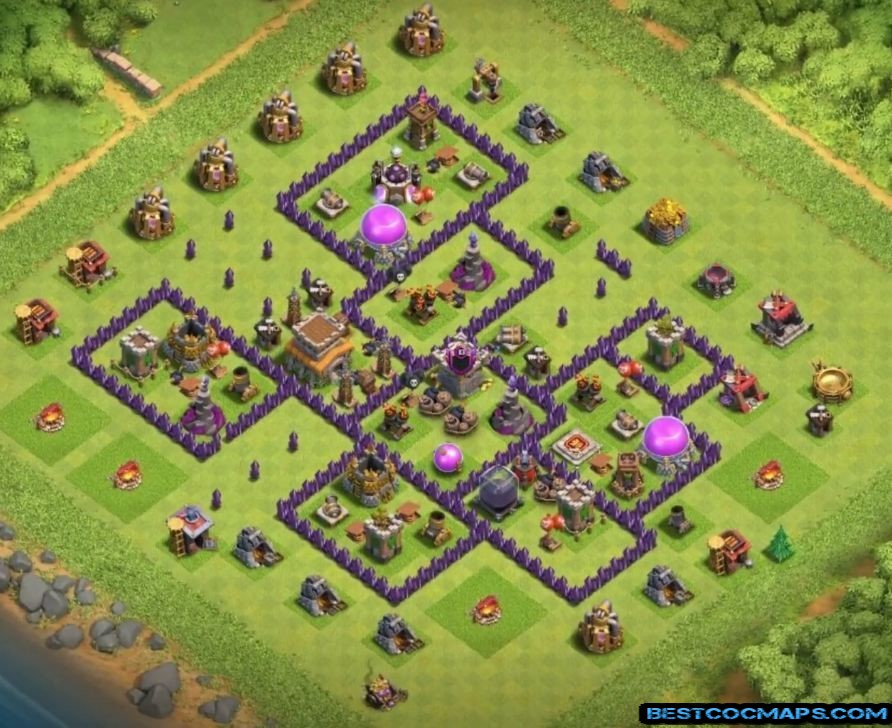 th8 war base undefeated