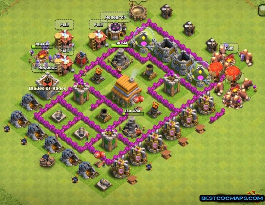 best th6 farming base link