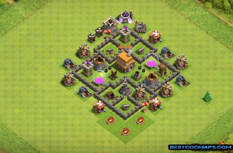 th5 base layout best defense