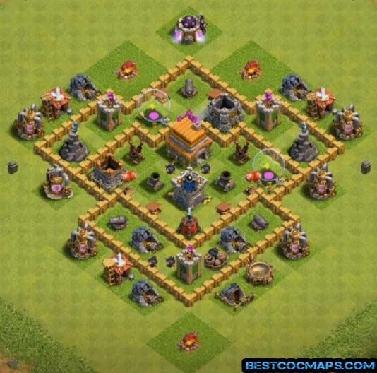 best th6 farm base