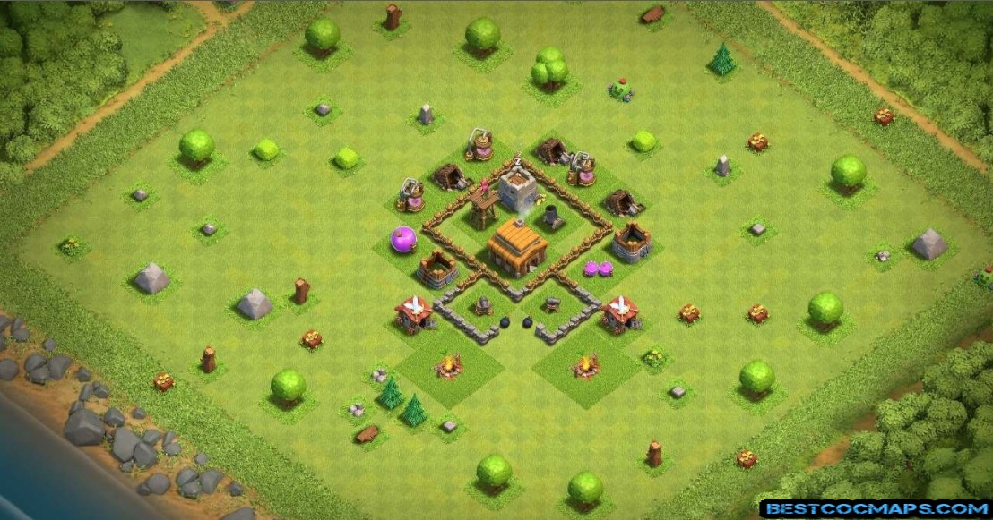 best th3 farming base