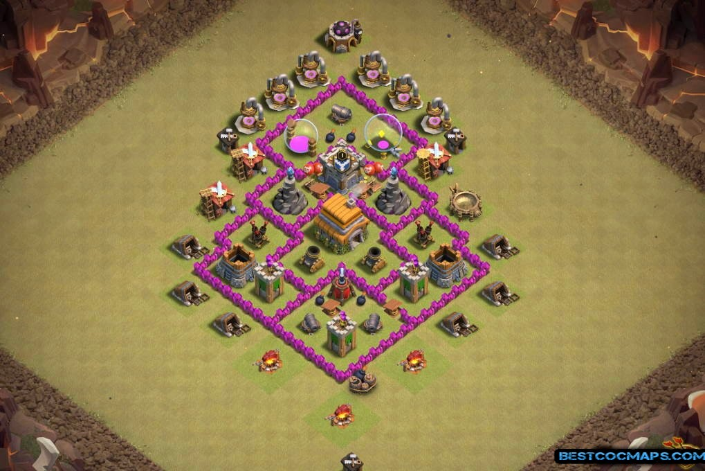 undefeated th6 war base