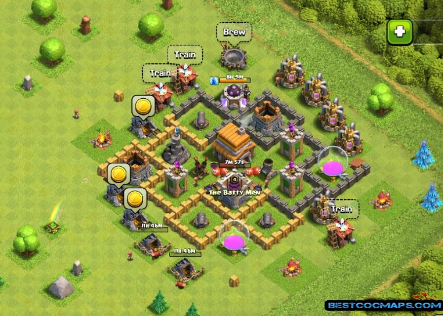 th5 trophy base link anti everything