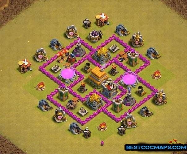 th6 war base layout