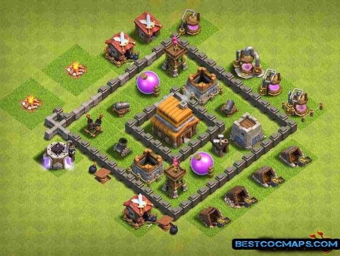 best th4 farming base link