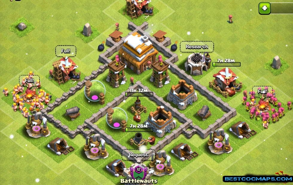 th4 war base 2021