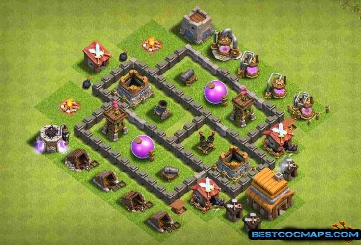 bases de farming th4