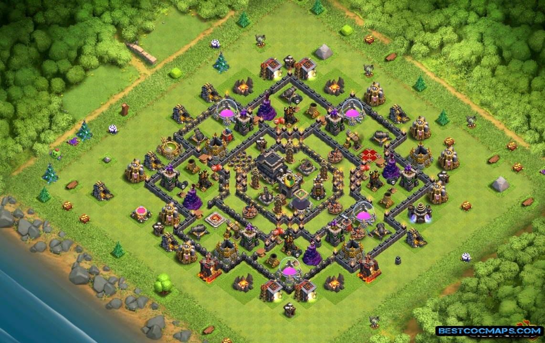 TH9 War Bases