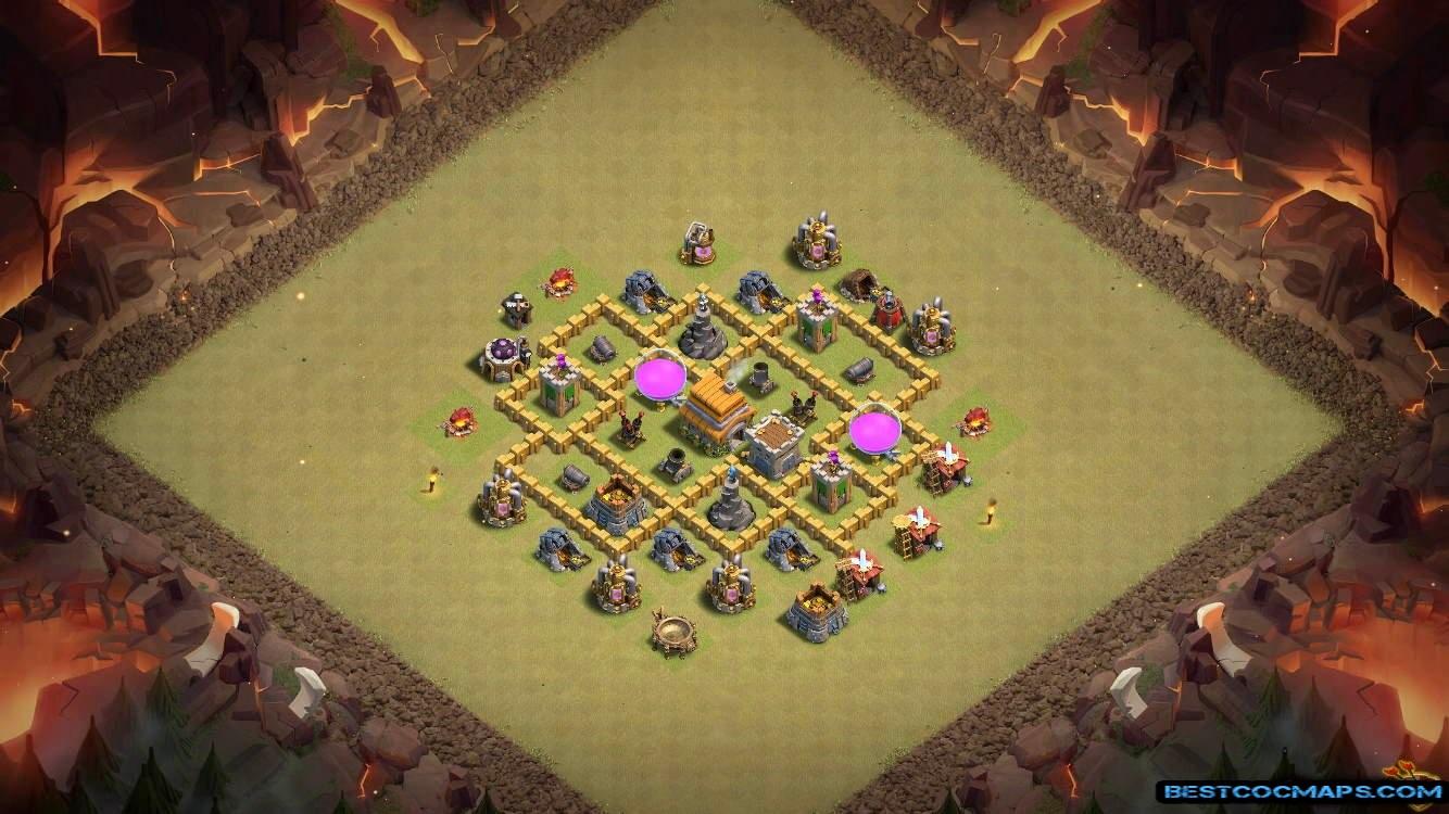 town hall 6 war map link