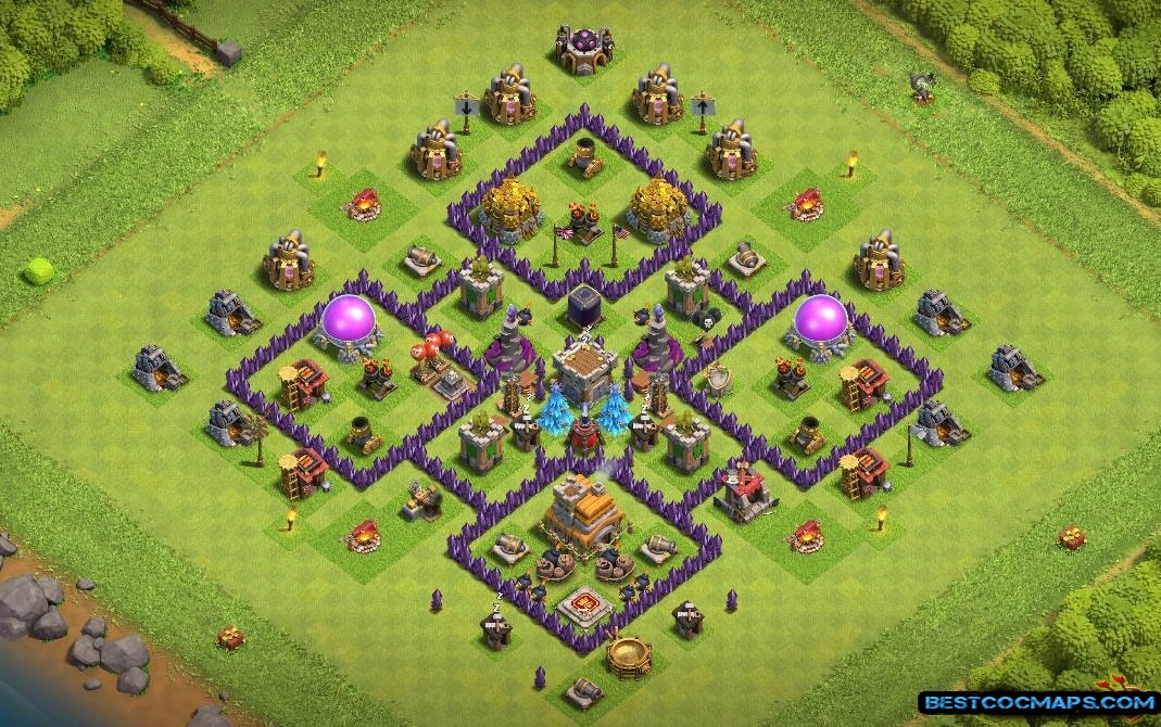 undefeated th7 war base