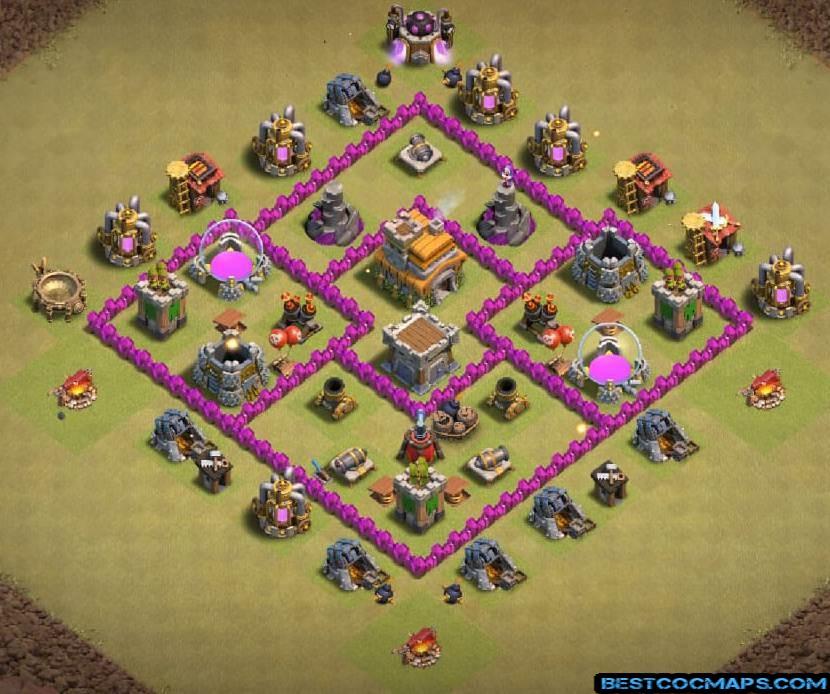 th6 war bases