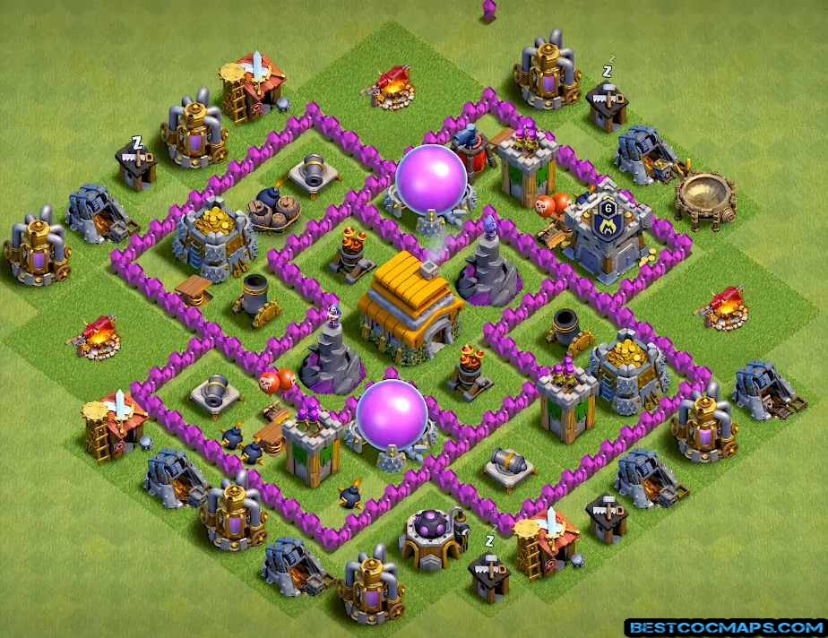 best th6 bases