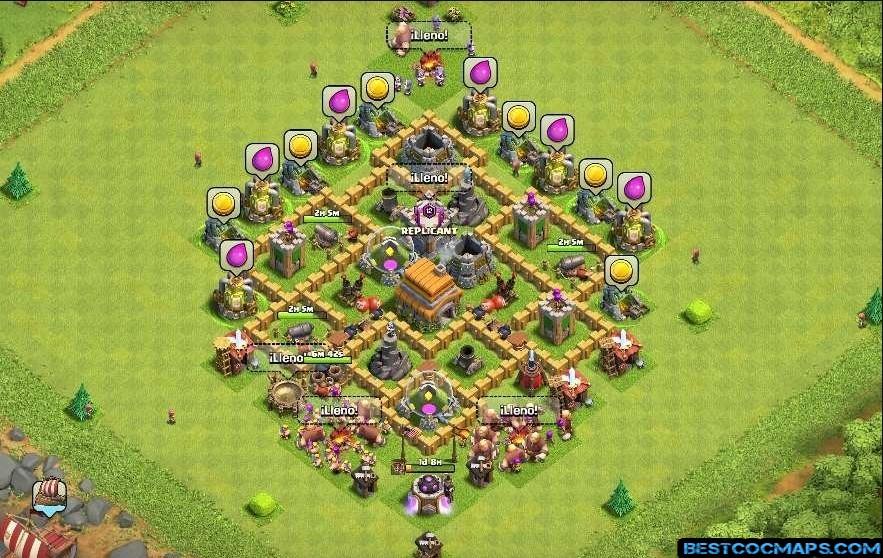 best th6 trophy base
