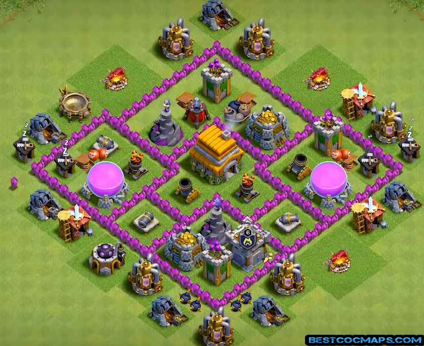 th6 base layout