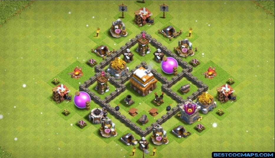 th4 base layout defense