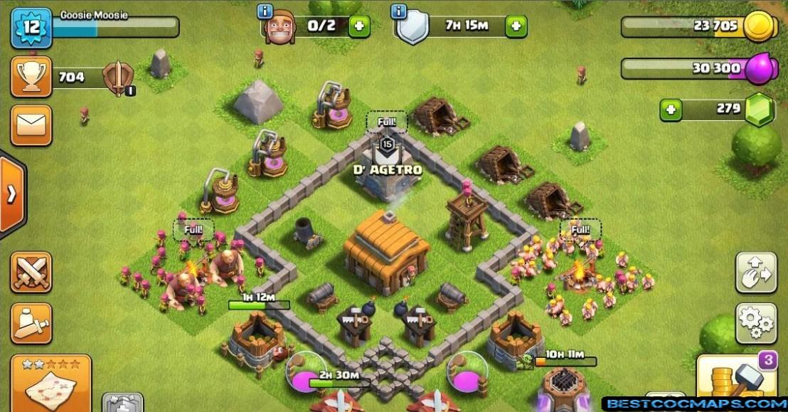 th3 farming base layout