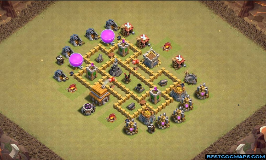 th5 war base anti 3 star