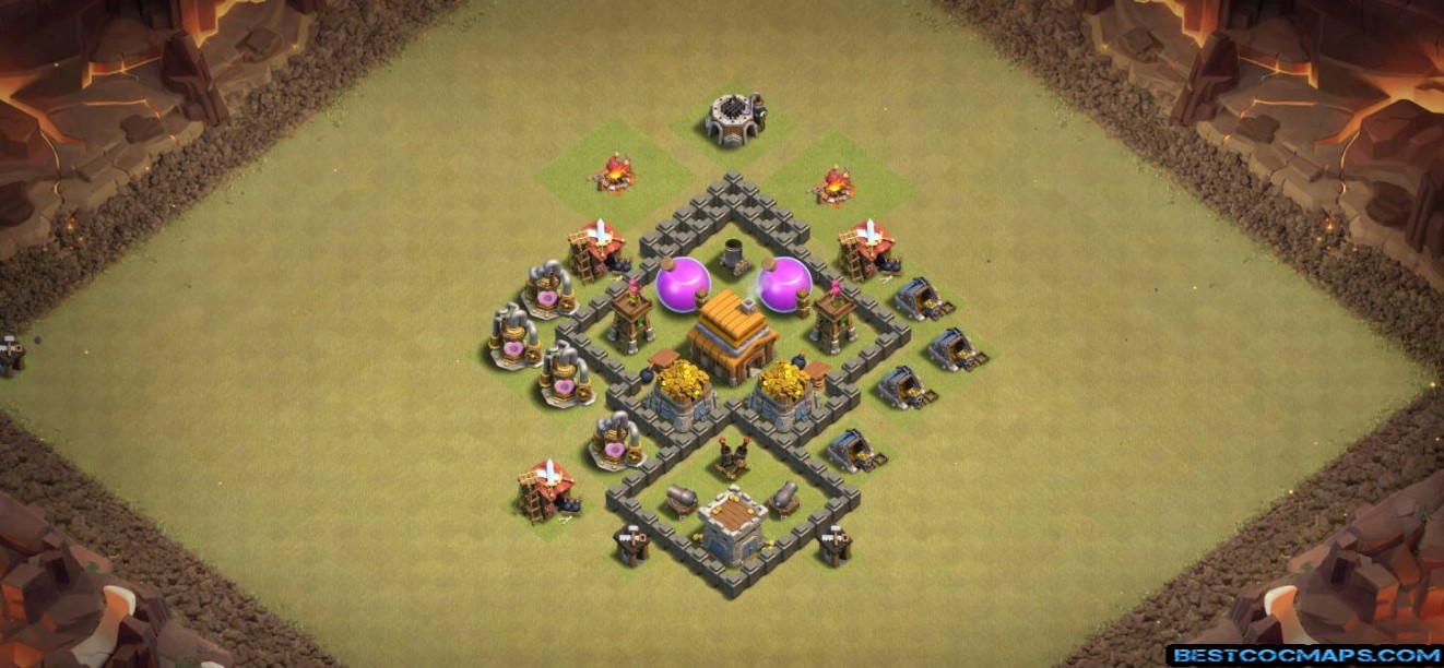 th4 war base layout