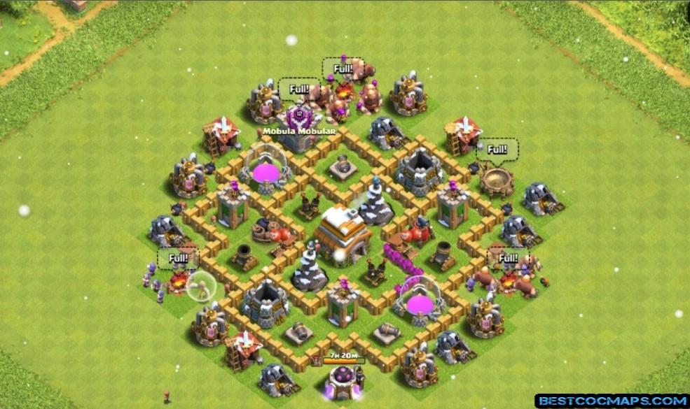 th6 farming base 2021