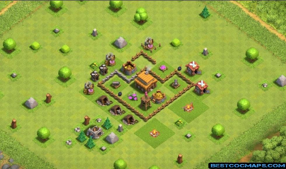 Town Hall 3 Bases