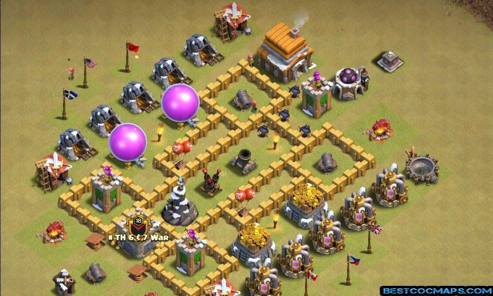 Town Hall 5 Bases